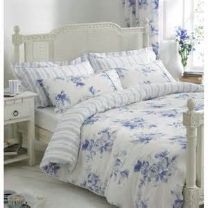 White Floral Duvet Cover Helena Springfield Margueritte Blue And White Floral