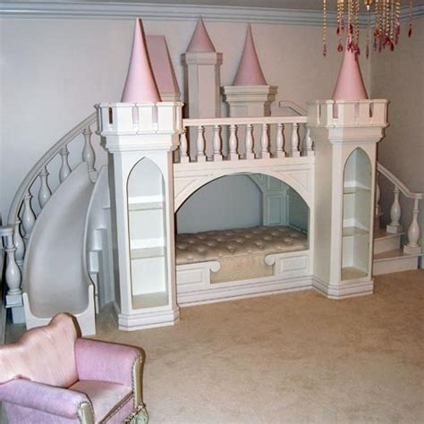 Princess Bed With Slide by Outrageous Bedrooms