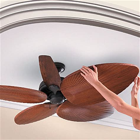 Palm Leaf Ceiling Fan Replacement Blades by Palm Leaf Ceiling Fan Blades Ceiling Fans