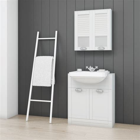 Furniture Bathroom Suites Nottingham White Semi Inset Furniture Bathroom Suite With Park Royal Toilet