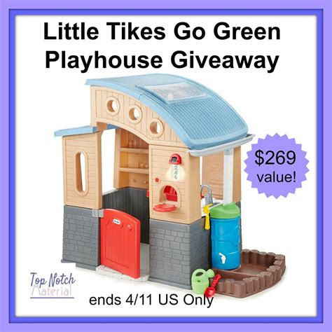 tikes green roof playhouse tikes go green playhouse giveaway 269 value