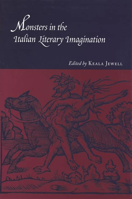 Monsters In The Italian Literary Imagination Wayne State