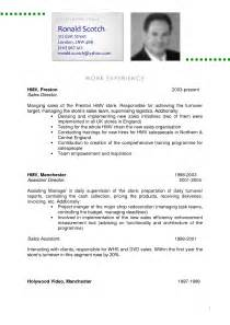 A Professional Curriculum Vitae by Professional Curriculum Vitae Samples Free Resume Templates