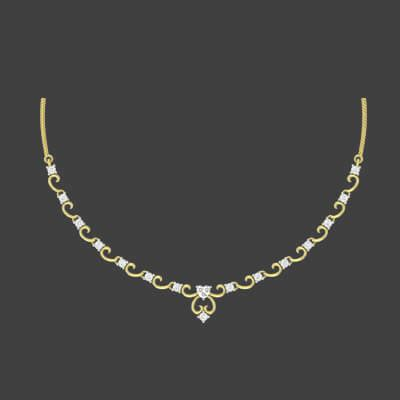 classic necklace set for wedding augrav