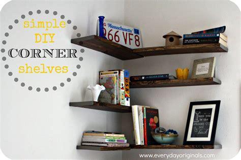 corner shelves diy diy hanging corner shelves