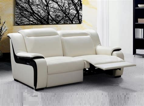 White Leather Recliner Sofa Set Contemporary Recliner Sofa Sets Www Energywarden Net