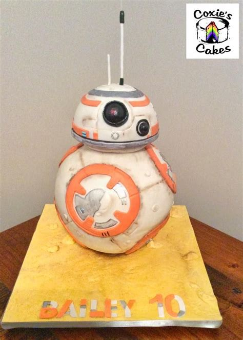 bb8 star wars cake 107 best images about coxie s cakes on pinterest
