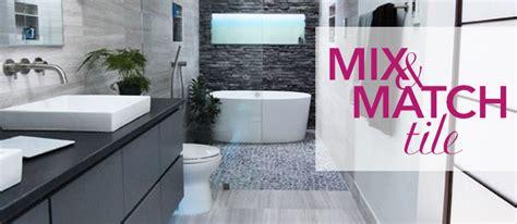 kitchen bath and tile mix and match tiles kitchen bath trends