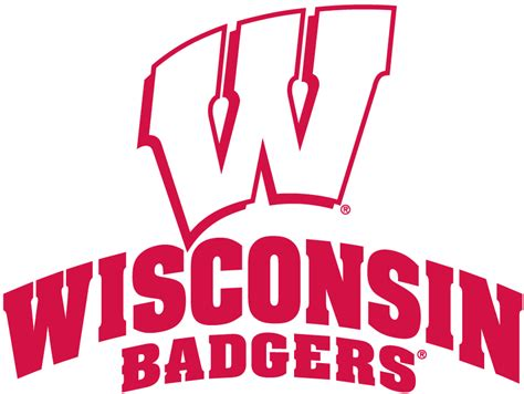 wisconsin basketball coloring pages wisconsin badgers logo clipart clipart suggest