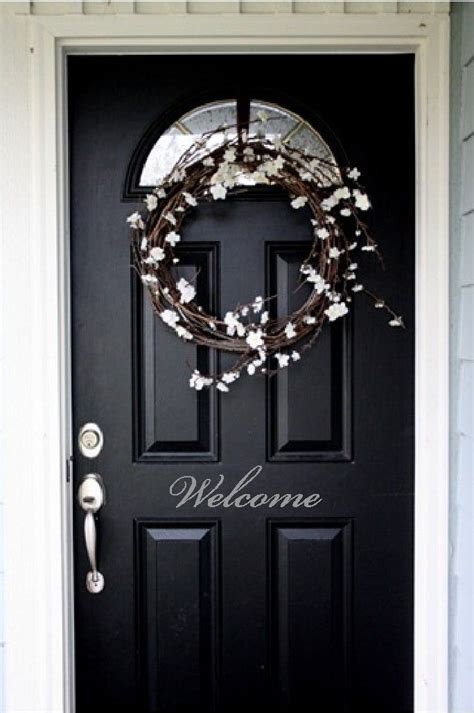 welcome front door entry sign decal sticker in vinyl item h1 - Welcome Decal For Front Door