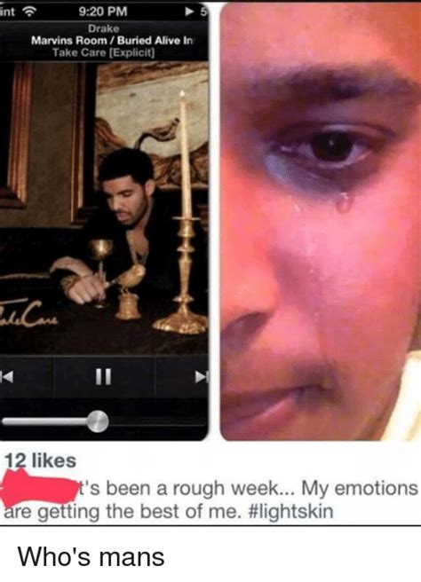 marvins room take care 920 pm int marvins room buried alive in take care 12 likes s been a week my