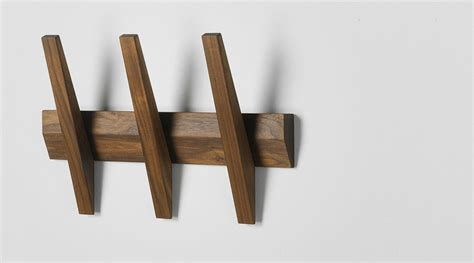 Garderobe Holz Natur