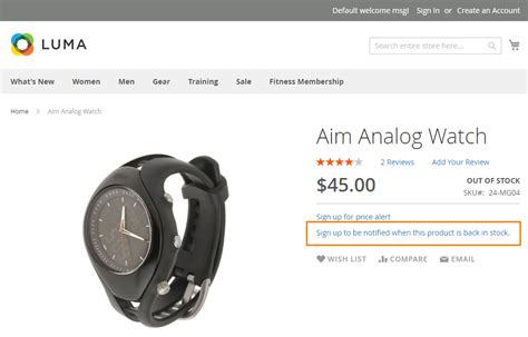 Stock Up Alert by How To Setup Product Price Email Alert In Magento 2