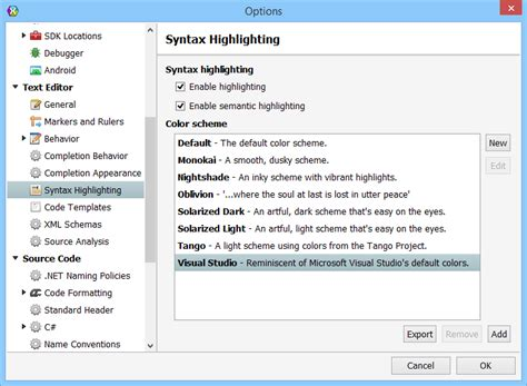 reset visual studio settings command line xamarin studio settings for visual studio developers
