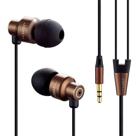 2 In 1 Earphone Headset 3 5 Mm 2in1 original stereo bass earphone headphones metal headset 3 5mm earbuds for iphone xiaomi