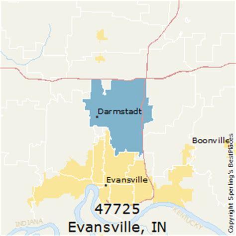 zip code map evansville in best places to live in evansville zip 47725 indiana
