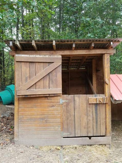 goat shed   backyard homestead goat shed shed