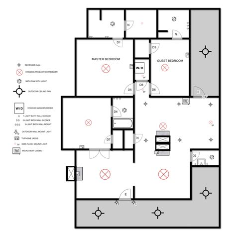house plan with electrical layout electrical plan myrtle house elizabeth burns design raleigh nc interior designer