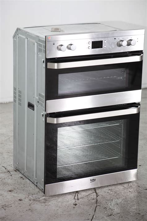 double oven for sale preloved beko integrated double oven odf22300x black