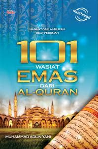 Buku Kitab Takwa Sepanjang Hari Pustaka Al Inabah buku islamik diskaun 101 wasiat emas dari al quran