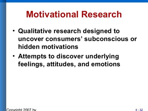Consumer Motivation Mba by Chapter 4consumer Motivation 091011084912 Phpapp02