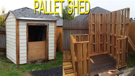 shed built   pallets check link  description