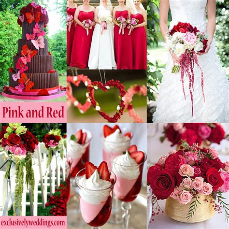 wedding colour themes pink pink wedding color twelve perfect combinations