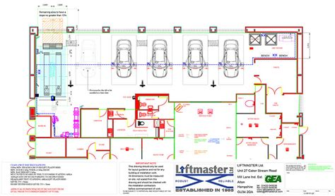 layout of vehicle workshop projects liftmaster ltd