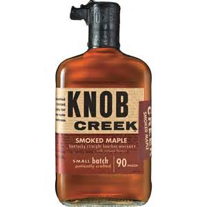 knob creek smoked maple small batch kentucky