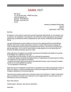 exemples de cv exemples de lettre de motivation