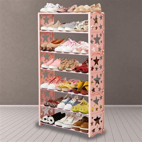Modern Shoe Shelf by Simple Multi Layers Shoes Shelf Brief Shoe Storage Shelf