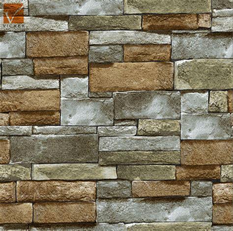 wallpaper batu alam 3d 3d popular natural stone wallpaperbrick design vinyl