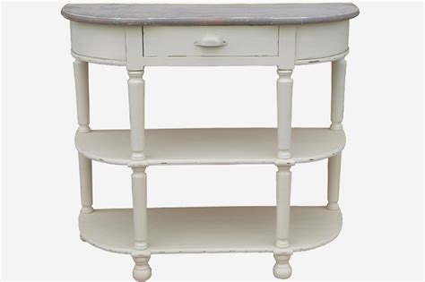 half moon console table with drawer 1 drawer half moon console table firmans direct