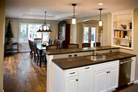 Kitchen With Dining Room by Kitchen Dining Room Traditional Kitchen San