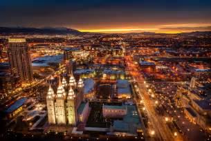 To Salt Lake City Salt Lake City Skyline