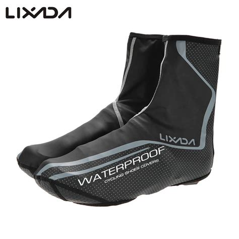 waterproof mountain bike shoes lixada cycling shoes cover thermal mtb mountain