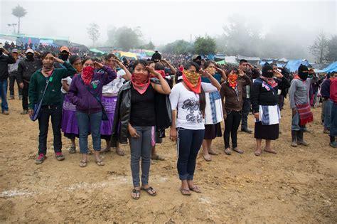 imagenes mujeres zapatistas mujeres de pie semillero ezln