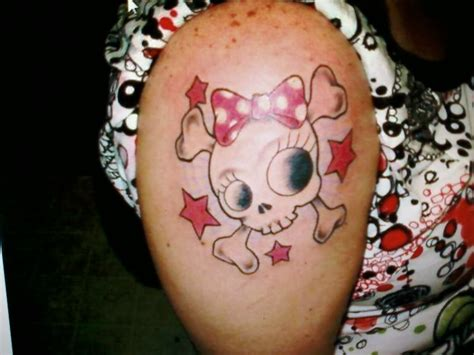 cute girly skull tattoos designs cool skull tattoos designs and ideas chainimage