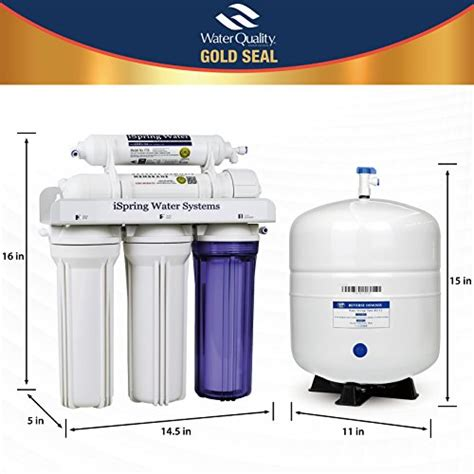under reverse osmosis water filter reviews ispring rcc7 reverse osmosis water filter review