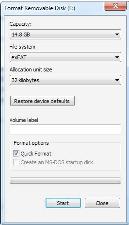 format live file system formatting the mevo microsd card mevo by livestream help