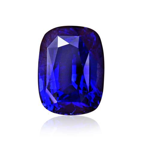 Saphire Blue Royal 4 51cts royal blue sapphire gemstone cushion cut grs