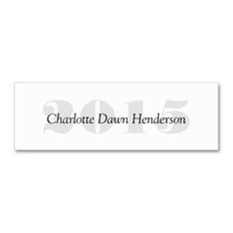 Graduation Name Card Inserts Template by Embossed Senior Class Graduation Name Card