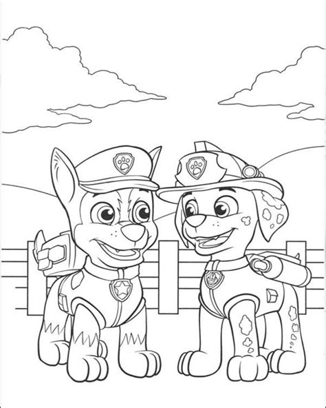 coloring pages to print out for 25 best ideas about paw patrol marshall on