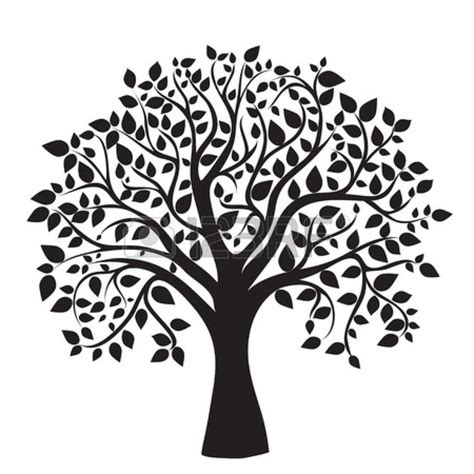 printable family tree silhouette 35 best trees images on pinterest silhouettes head
