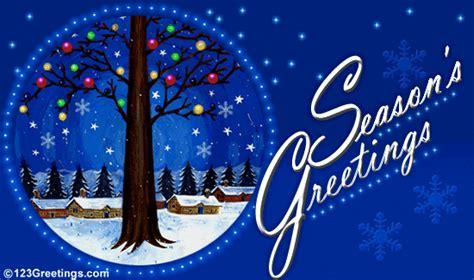 Season S Greetings Free Warm Wishes Ecards Greeting Cards 123 Greetings Seasons Greetings Card Templates Free