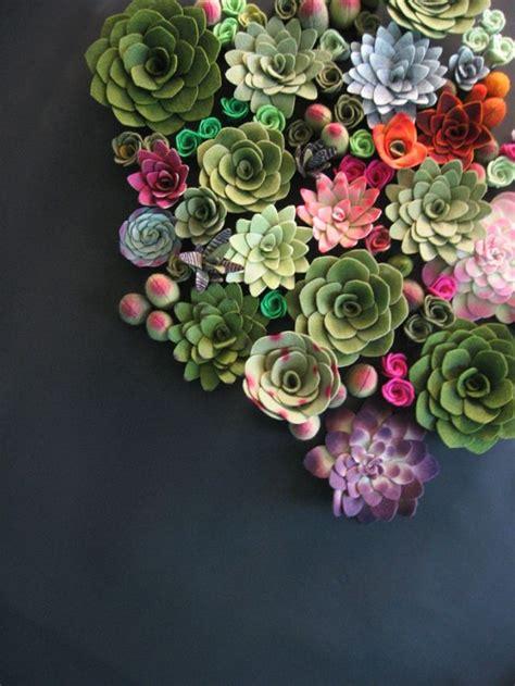 how does your garden grow made to order succulent vertical garden felt plants arrangement custom