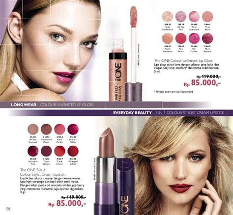 Oriflame The One Colour Unlimited Lip Gloss Evermore 30642 katalog oriflame april 2016 indonesia promo novage