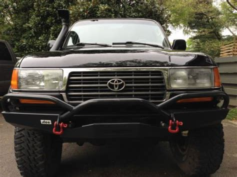 used slee bumper find used fzj80 landcruiser locked lifted off road 4x4