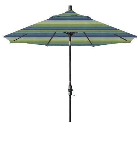 Patio Market Umbrellas Market Umbrella Aluminum Collar Tilt Sunbrella Seville Seaside 5608