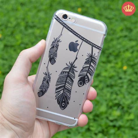 Diskon Spesial Natal Anti Casing Iphone 5 5s Se 6 6s capinha de silicone transparente boho chic para iphone 5